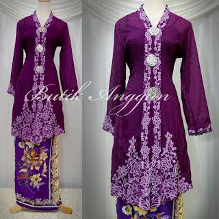 Model Kebaya Modern Muslim 2011 Terbaru Desain Baju Pakaian Kebaya Muslim