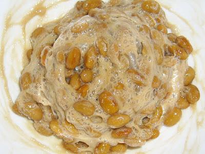納豆にオイスターソース