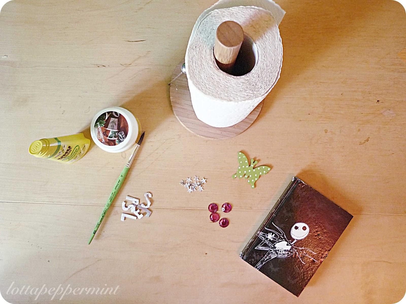 lottapeppermint harry potter zauberbuch diy. Black Bedroom Furniture Sets. Home Design Ideas