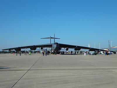 Randolph Air Force Base 2011 Air Show: B-52 Stratofortres