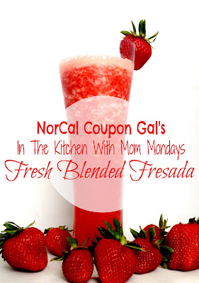 In The Kitchen With Mom Mondays &#8211; Strawberry fresada