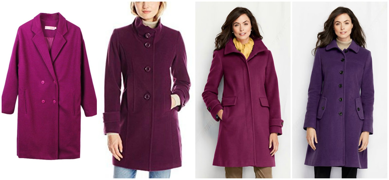 Wear It For Less: GIGI HADID: PURPLE COAT