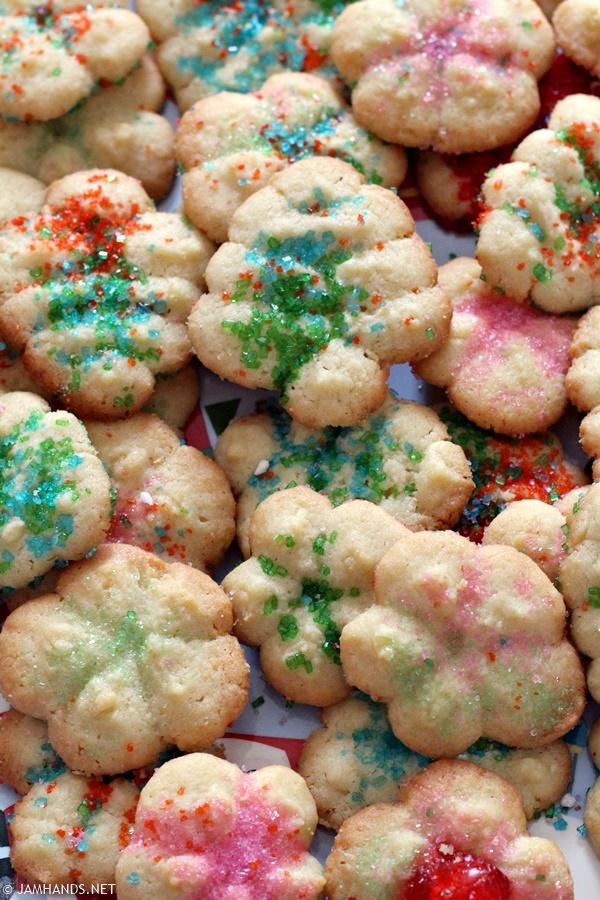 Jam Hands: Betty Crocker Classic Spritz Cookies