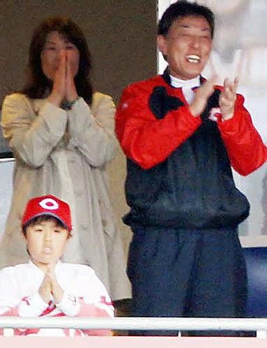 福井三年ぶり完投勝利を伝えるカープ号外