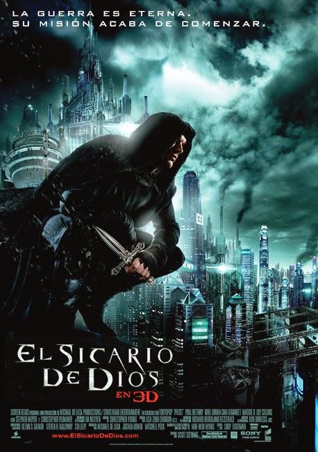 Cartel de cine de El Sicario de Dios