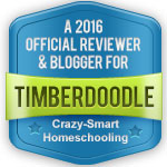 I review for the awesome Timberdoodle homeschool catalog.