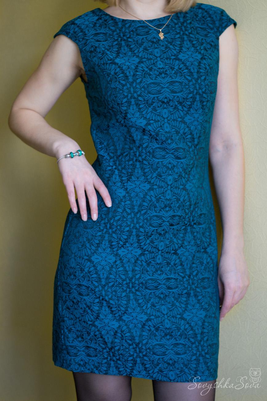 Платье из жаккарда своими руками выкройки