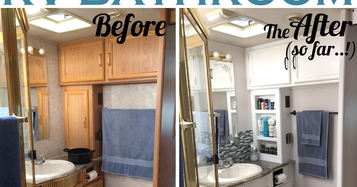 RV Renovation   The Bathroom Edition