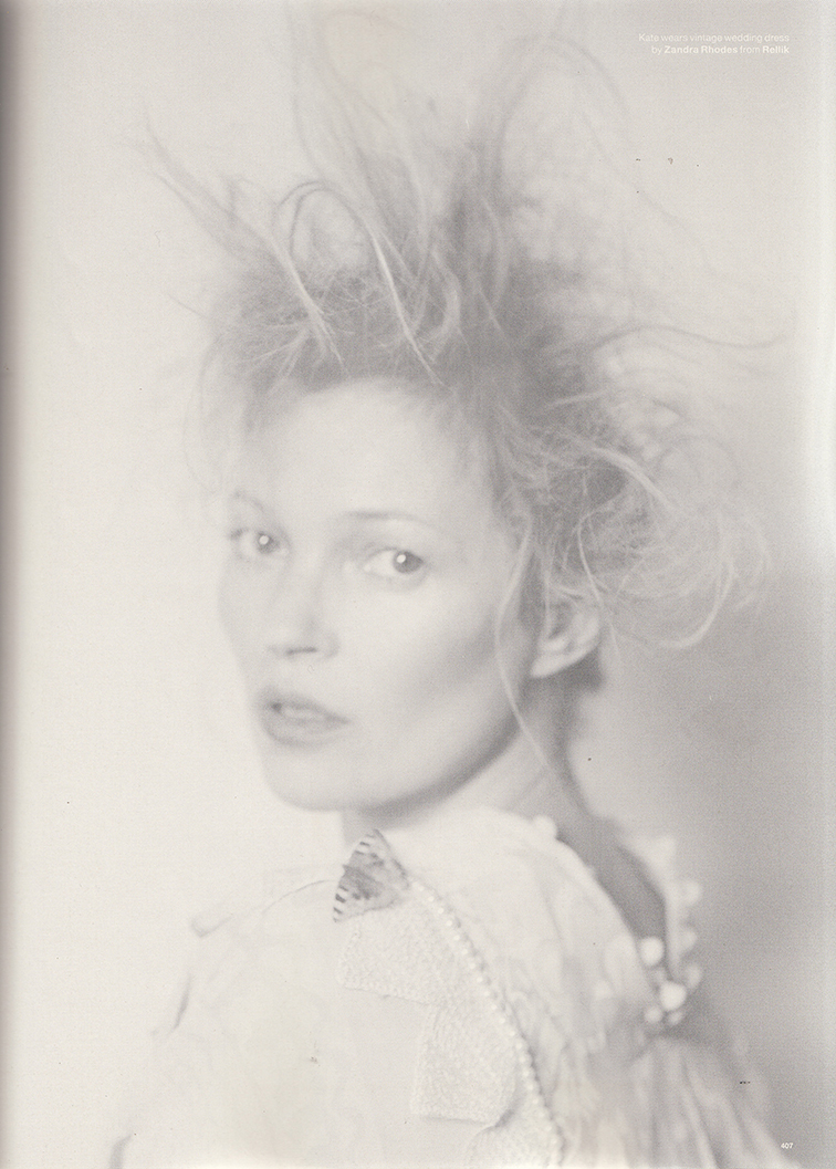 Kate Moss photographed by Tim Walker styled by Katie Grand photographed for Love magazine #12 fall/winter 14