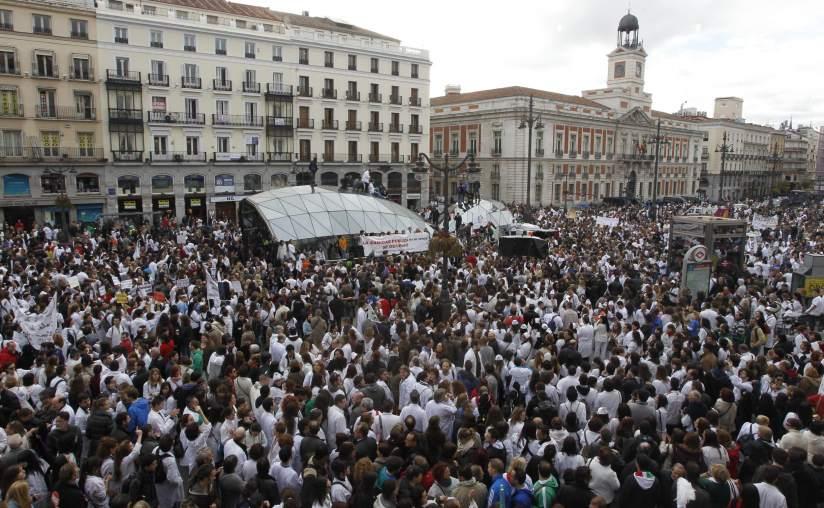 Paralizada la privatización de la sanidad en Madrid