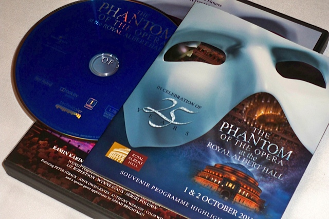 phantom 25th anniversary blu ray