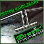 zombie performance - custom handlebars and more