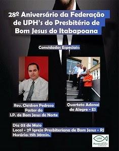 Aniversário Federação UPH
