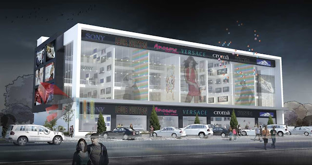 3d Shopping Mall Design,3d architecture design
