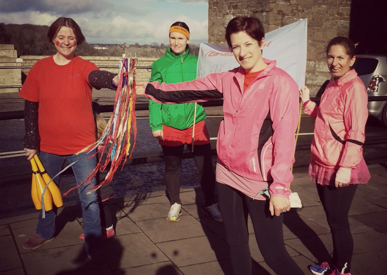 Bristol Team Honk Relay Sport Relief 2014 // 76sunflowers