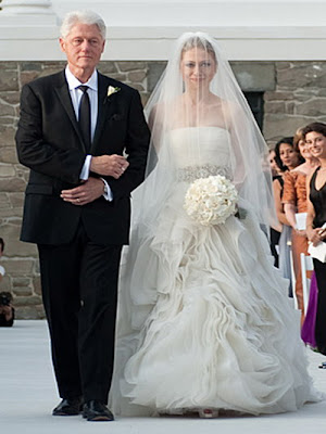 humor feast: wedding dresses of the famous
