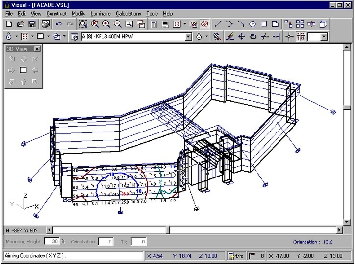 Visual Software For Outdoor Lighting Design Part One Electrical Knowhow