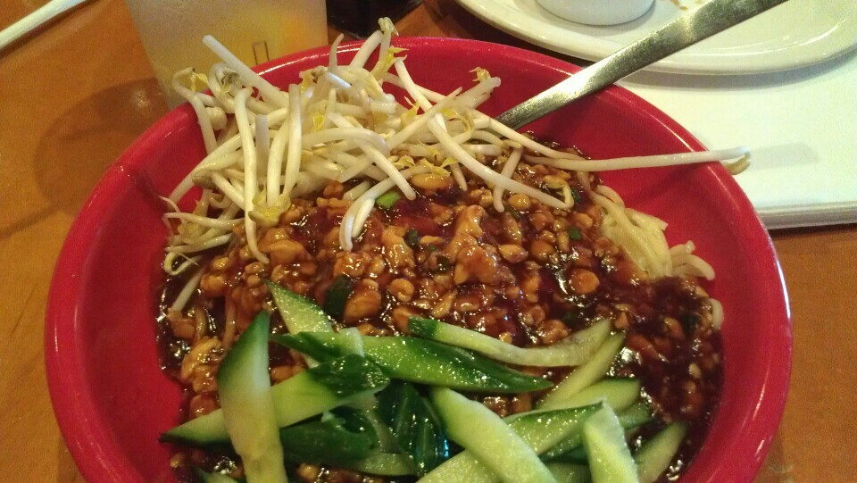 ... PF Chang's and their sister cafe Pei Wei's version of Dan Dan Noo...