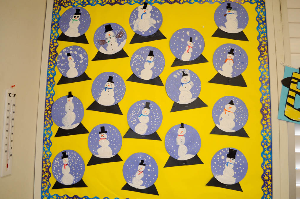 mrs ricca s kindergarten snow globe craft