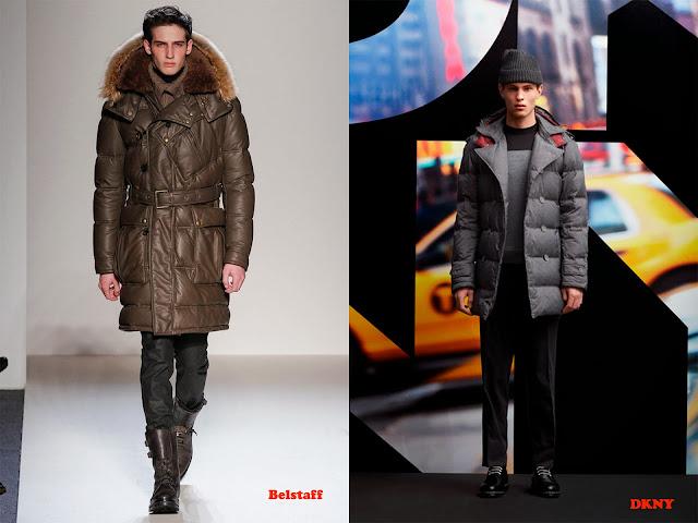 Tendencia otoño_invierno 2013-14 anorak de plumas: Belstaff y DKNY