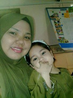 ibu & arissa..