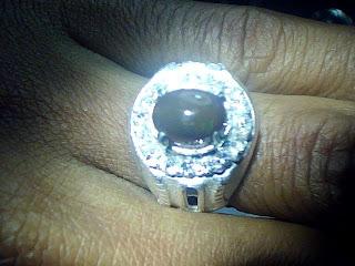 Batu cincin Kalimaya Teh Afrika