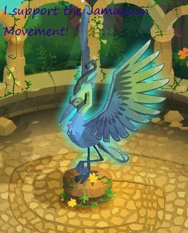 The Animal Jam Eternal Frost Supports...
