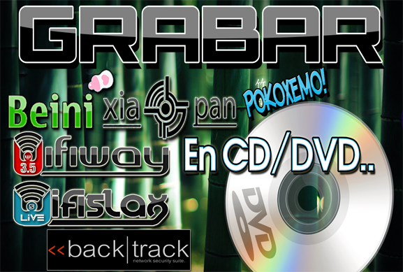 grabar dvd con linux: