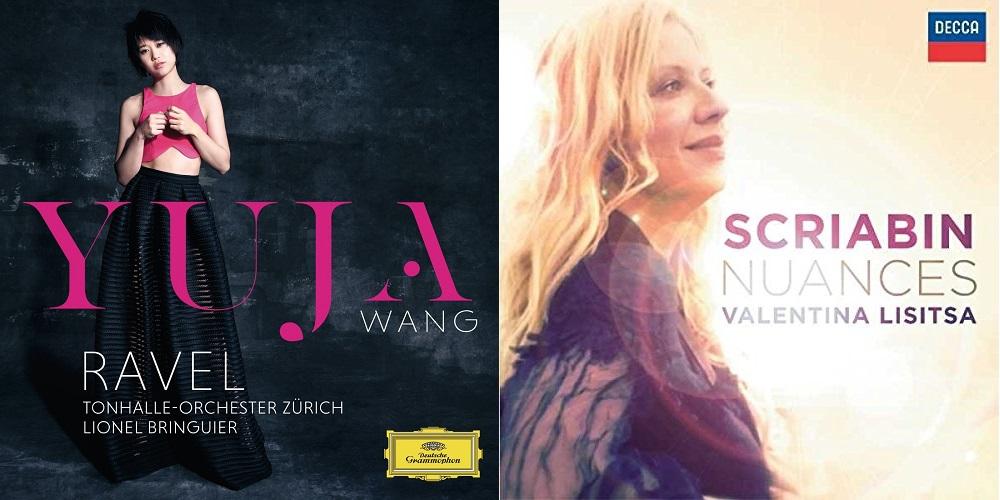 CD REVIEW: Yuja Wang plays Fauré & Ravel (DGG 479 4954) and Valentina Lisitsa plays Scriabin (DECCA 478 8435)
