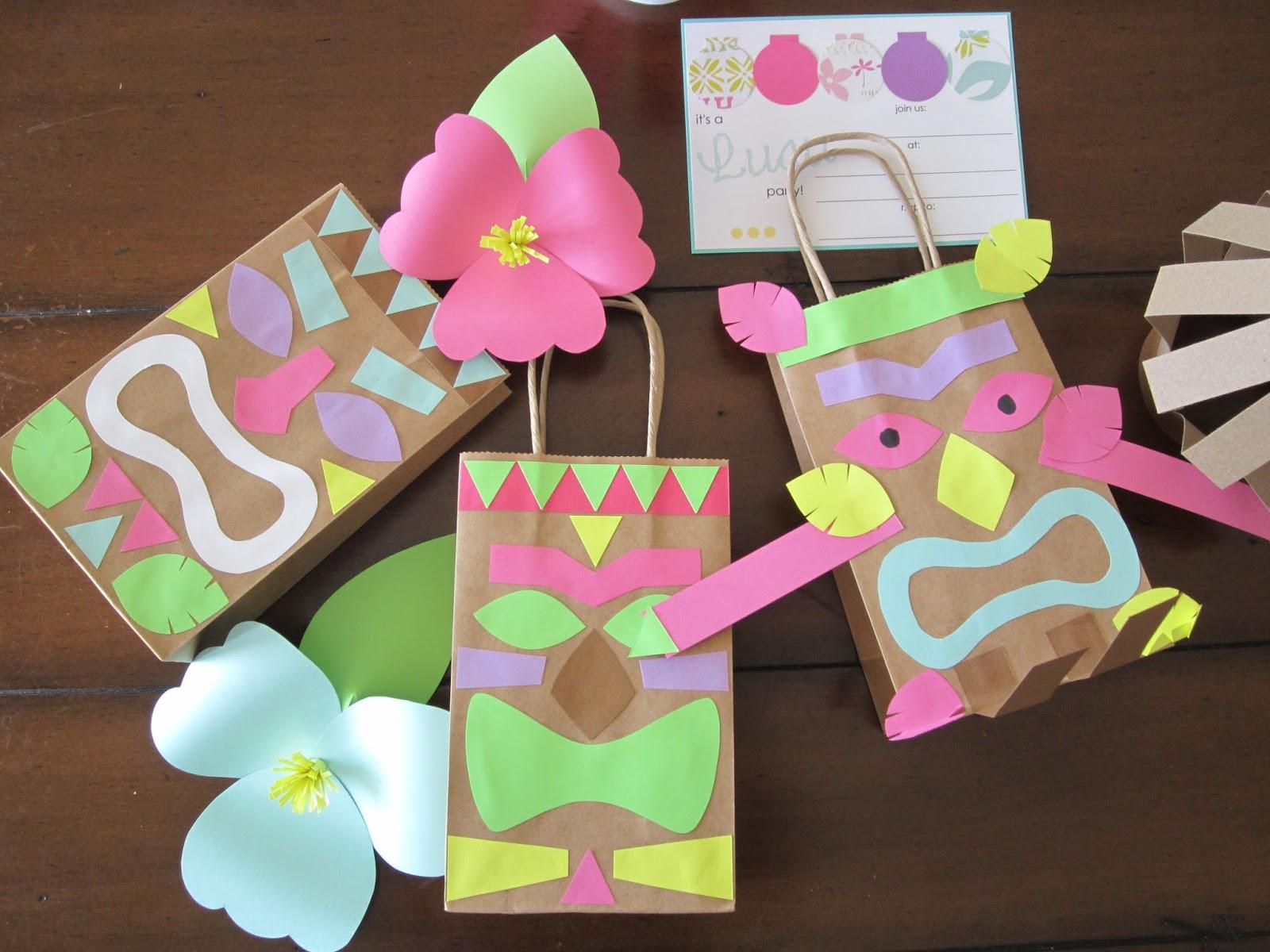 Hawaiian Tiki Mask Craft