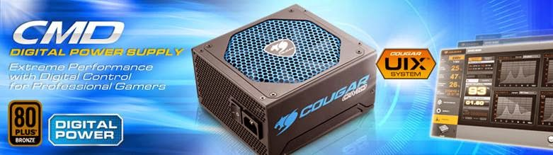 COUGAR 80 PLUS BRONZE Digital PSU