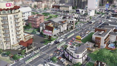 simcity 5 (2013) goes online, favorite city builder