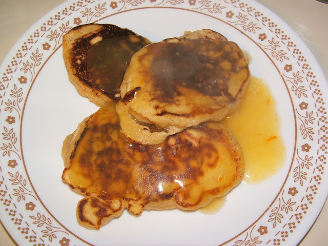 God's Growing Garden: Sweet Potato Pancakes with Homemade ...