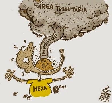 Newton Silva: Carga tributária.