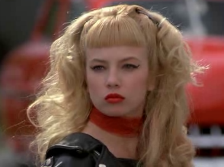 Traci lords with bangs