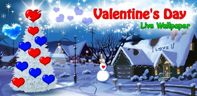 Valentine's Day Live Wallpaper Android Applications