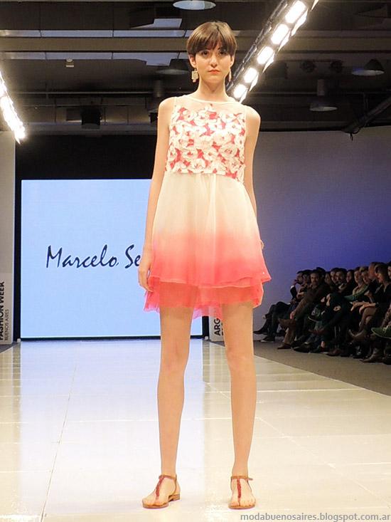 Marcelo Senra primavera verano 2015. Moda verano 2015 vestidos.