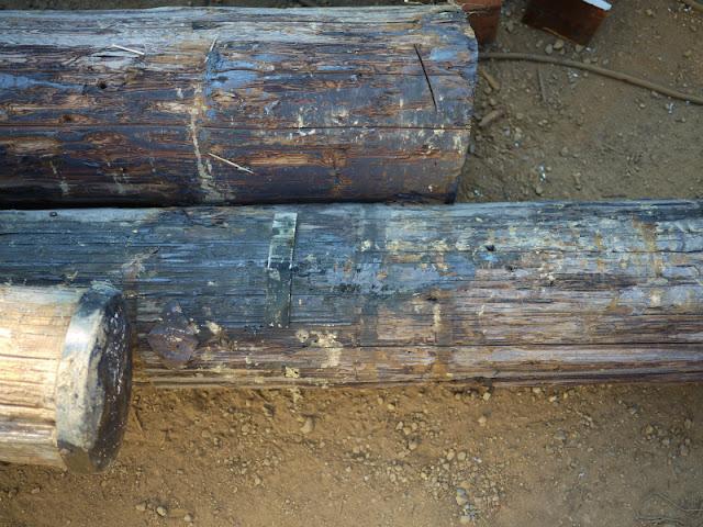 古電柱 中古電柱 アンティーク 入荷