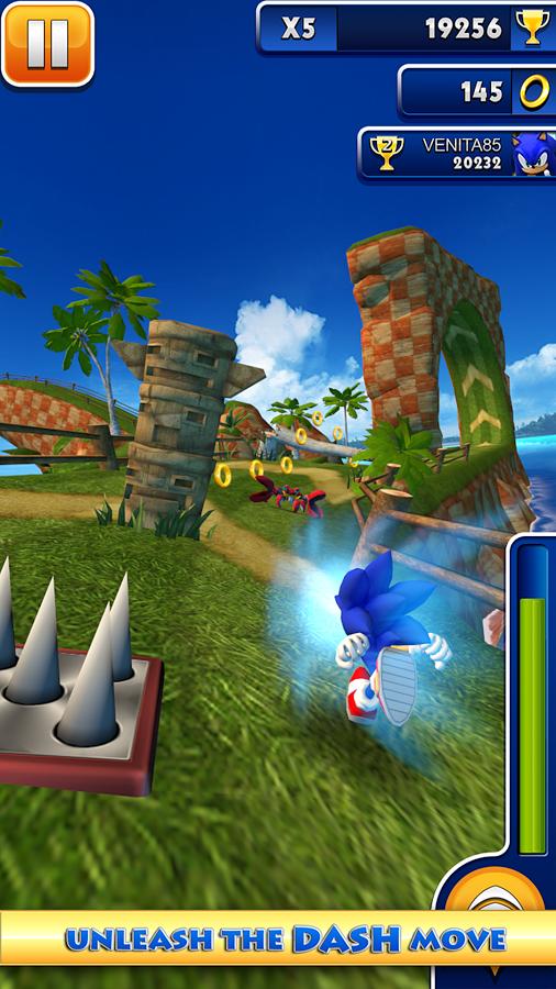 Sonic Dash Hack 4.1.0 (MOD,Unlimited Money) Apk | HackDl