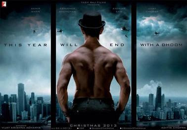 Dhoom 3 Film Poster