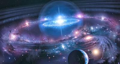 Universo, universo infinito, dimensão do universo.