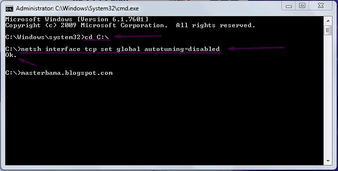 Cara Mempercepat Koneksi Internet Dengan Command Prompt