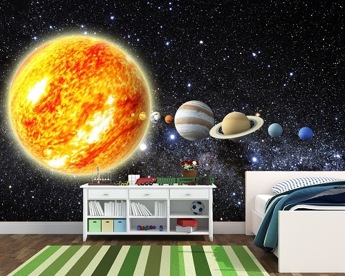solar system wall mount - photo #34