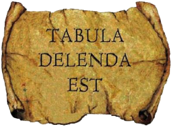 TABULA DELENDA EST