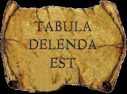TABULA DELENDA EST