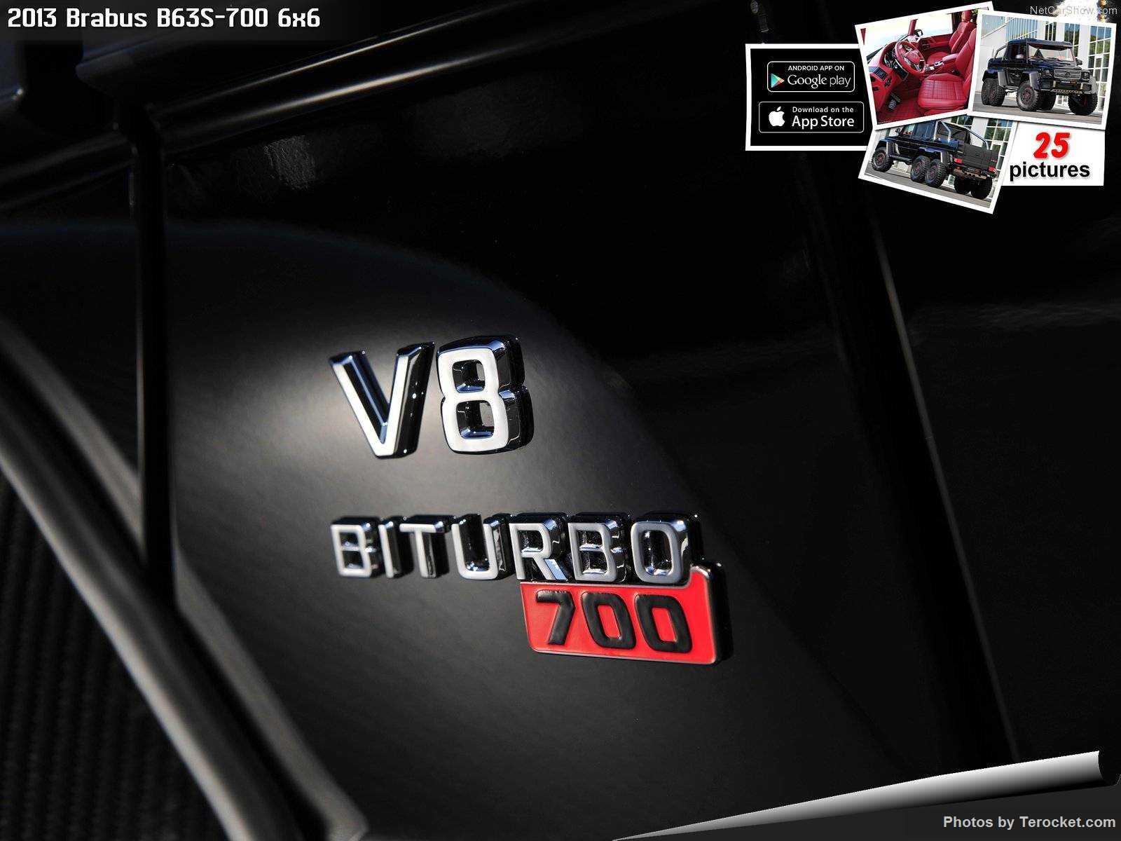 Hình ảnh xe ô tô Brabus B63S-700 6x6 2013 & nội ngoại thất