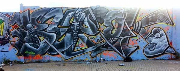Graffiti Berok annunakis