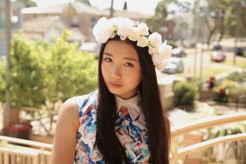 floral crown, floral garland, spring, summer, style, Etsy, P&P Crown, DIY floral crown, flower crown, rose crown