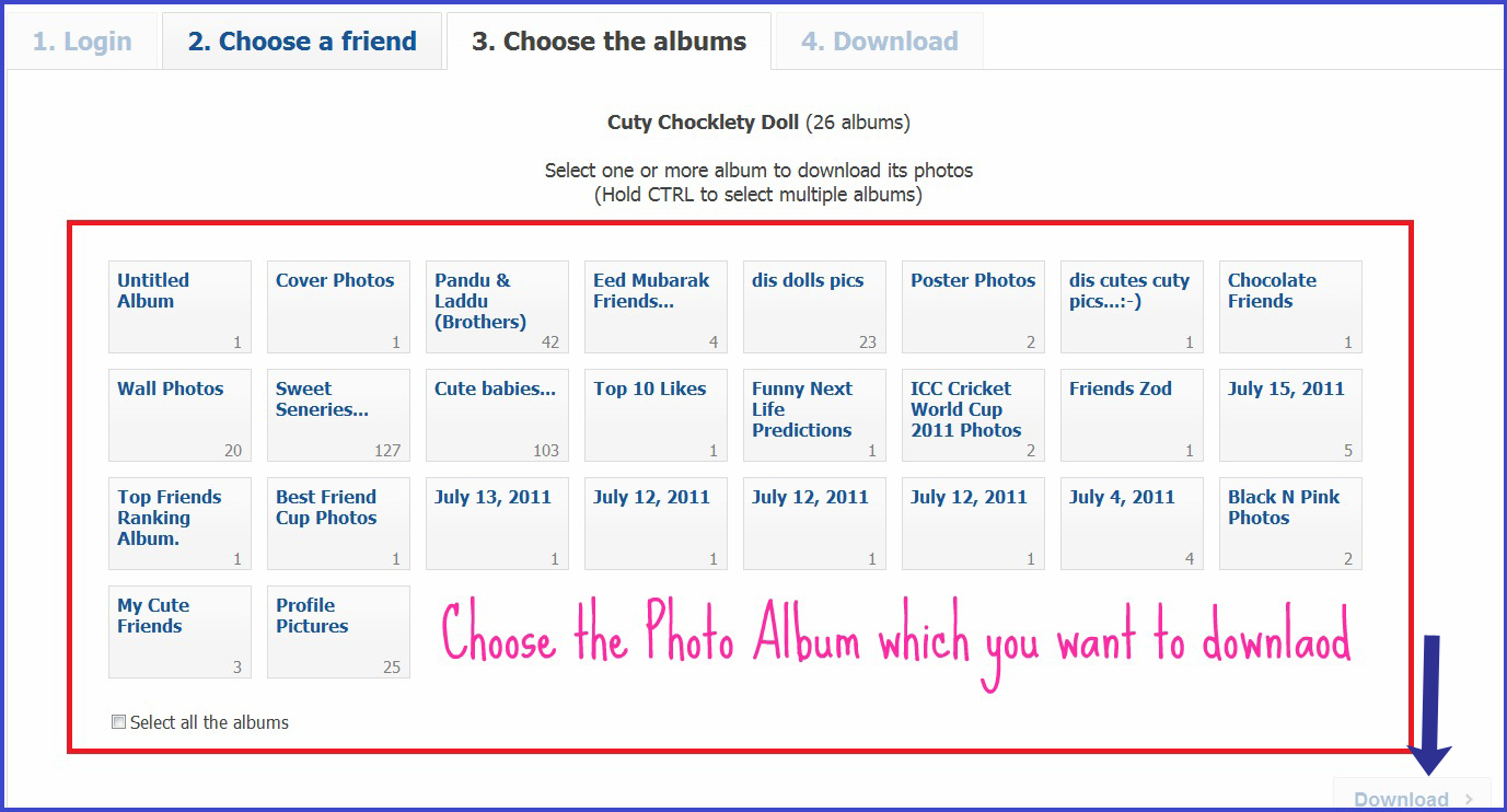 select+albums+to+download