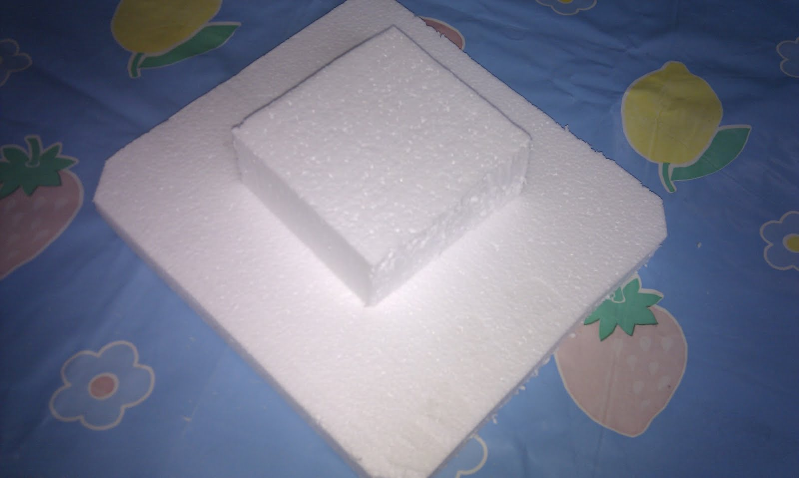 Rosana y silvia manualidades y pasteles paso a paso tarta de chuches - Manualidades corcho blanco ...